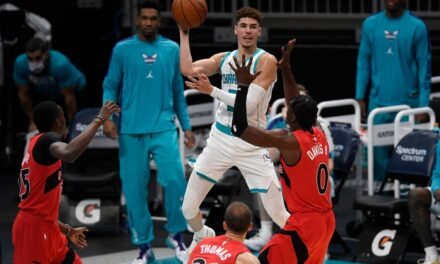 The NBA GMs pick CHARLOTTE HORNET'S #3 PICK, LaMelo Ball, not Anthony Edwards or James Wiseman, as Rookie of the Year favorite