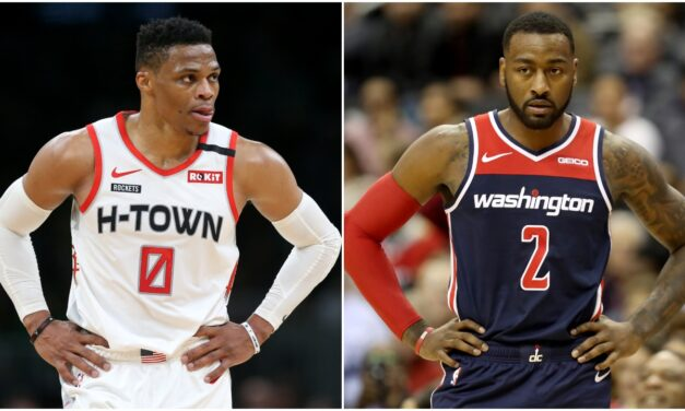 The Wall-Westbrook nba 2020 blockbuster trade deal Was a Great acquisition for both organizations, both players qualify as  two of the greatest nba guards, and overall players of their era