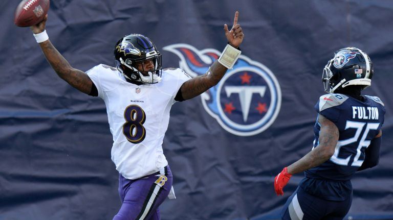 Lamar Jackson earns first playoff win as Ravens oust Titans, And The THREE time playoff berth quarterback, Lamar Jackson, Runs Past the Titans, Leaving His Playoff Narrative Behind Him
