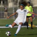 Trinity Rodman, Bulls legend Dennis Rodman's daughter, who Was the No. 1 recruit in the country in 2020, enters the National Women's Soccer League Draft