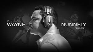 Wayne Nunnely, UNLV's only Black head football coach, AND ALSO WAS A Former NFL defensive line coach for the New Orleans Saints, San Diego Chargers and Denver Broncos, dies at 68