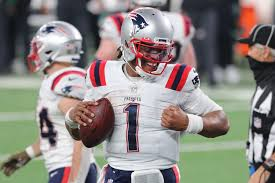 """CAM NEWTON, """"ONE OF THE GREATEST QUARTERBACKS OF ALL-TIME"""", IS THE STARTING QUARTERBACK FOR THE 2021 NEW ENGLAND PATRIOTS OF THE NFL"""