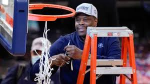 Patrick Ewing's GEORGETOWN Hoyas DOMINATES Creighton,  to win THE Big East tourney, QUALIFIES FOR THE NCAA tournament berth