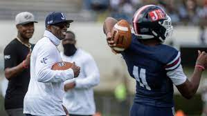 Head Coach Deion Sanders, and his Jackson State University football Team, dominates, impresses and improves to 3-0 with 43-7 win over Mississippi Valley State