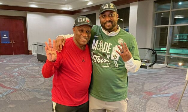 When Houston and Baylor meet in the Final Four, it will be father vs. son on the sidelines: UH assistant Alvin Brooks named next Lamar university head basketball coach, CONGRATS TO BOTH HEAD COACH ALVIN BROOKS II, AND SON, ALVIN BROOKS III