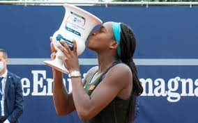 Coco Gauff wins first 2 clay titles on same day, She needed just 74 minutes to win her singles title