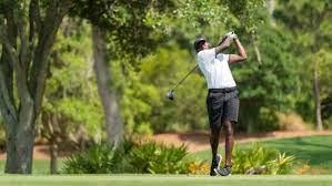Howard UNIVERSITY GOLF TEAM'S Gregory Odom Jr.,  plays through grief to win PGA Works Collegiate golf title, EVERYBODY IS TALKING, THE WORLD IS WATCHING