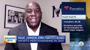 """Earvin """"Magic"""" Johnson Appointed to Fanatics Board of Directors  Basketball Hall of Famer and renowned entrepreneur will help guide direction of Fanatics with his unique perspectives on business and community"""