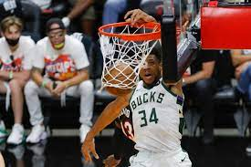 Khris Middleton lifts Milwaukee Bucks past Atlanta Hawks, into NBA Finals, ATLANTA — The Milwaukee Bucks are headed to the NBA Finals for the first time since 1974, and they secured the final wins of the series, THANKS TO THEIR star,  Giannis Antetokounmpo.