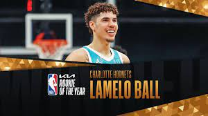 THE CHARLOTTE Hornets' LaMelo Ball wins 2020-21 Kia NBA Rookie of the Year