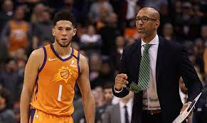 Chris Paul leads Phoenix Suns to first playoff sweep of his career and into Western Conference finals, Monty Williams, Chris Paul share heartfelt embrace after Suns' series-clinching win