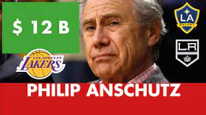 Philip Anschutz selling 27 percent stake in Lakers to Dodgers owners Mark Walter, Todd Boehly