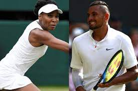 Nick Kyrgios to pair with Venus Williams for Wimbledon mixed doubles in return to tennis