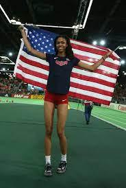 Vashti Cunningham, daughter of former NFL 4X PRO BOWL QB Randall Cunningham, makes Olympic team