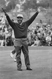 Charlie Sifford: the first black member of the PGA Tour  He joined in 1961 after the tour removed its 'Caucasian-only' clause