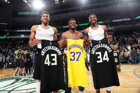 INTRODUCING THE FIRST Brother Trio To Win A NBA Championship, Giannis, Thanasis, And Kostas Antetokounmpo
