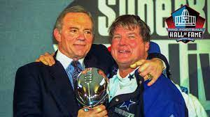 """The Greatest Owner in The History Of The NFL, """"Jerry Jones"""", tells The Greatest Coach in COWBOYS HISTORY, """"Jimmy Johnson"""", he'll be inducted into Cowboys Ring of Honor"""