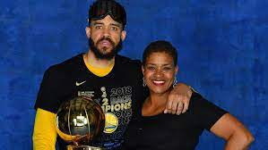 THE GREAT Pamela McGee(2x NCAA champion (1983, 1984), 3x olympic basketball gold medal winner, 4x medal winner, WABA champion,1984) and THE GREAT SON, JaVale McGee(three-time NBA champion, Olympic 2021 Basketball Champion), becomes the first mother-son gold-medal duo in Olympics history