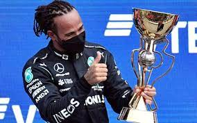 Sir Lewis Carl Davidson Hamilton MBE HonFREng, Becomes First F1 Driver in History to Record 100 Victories
