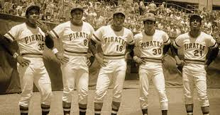 50YRS AGO, THE PITTSBURGH PIRATES FIELDED THE GREATEST BASEBALL TEAM TO EVER START A MLB GAME