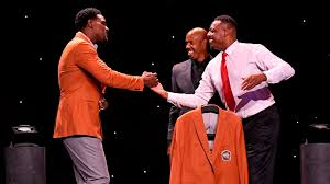 The Naismith Memorial Basketball Hall of Fame welcomes the Class of 2021, a group headlined by Chris Bosh, Paul Pierce, and Chris Webber
