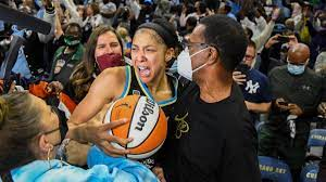CANDACE PARKER CAPTURES WNBA CHAMPIONSHIP#2, AS SHE  LEADS THE Chicago Sky TO VICTORY, AS THEY Beat Phoenix Mercury for First W.N.B.A. Championship