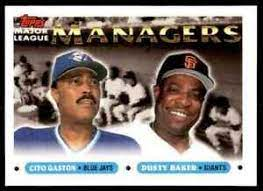 Cito Gaston on longtime pal, First MLB manager to lead five different teams to the playoffs, and Houston Astro's Manager, Dusty Baker: 'So proud of him', Cito on longtime pal Dusty: 'So proud of him'
