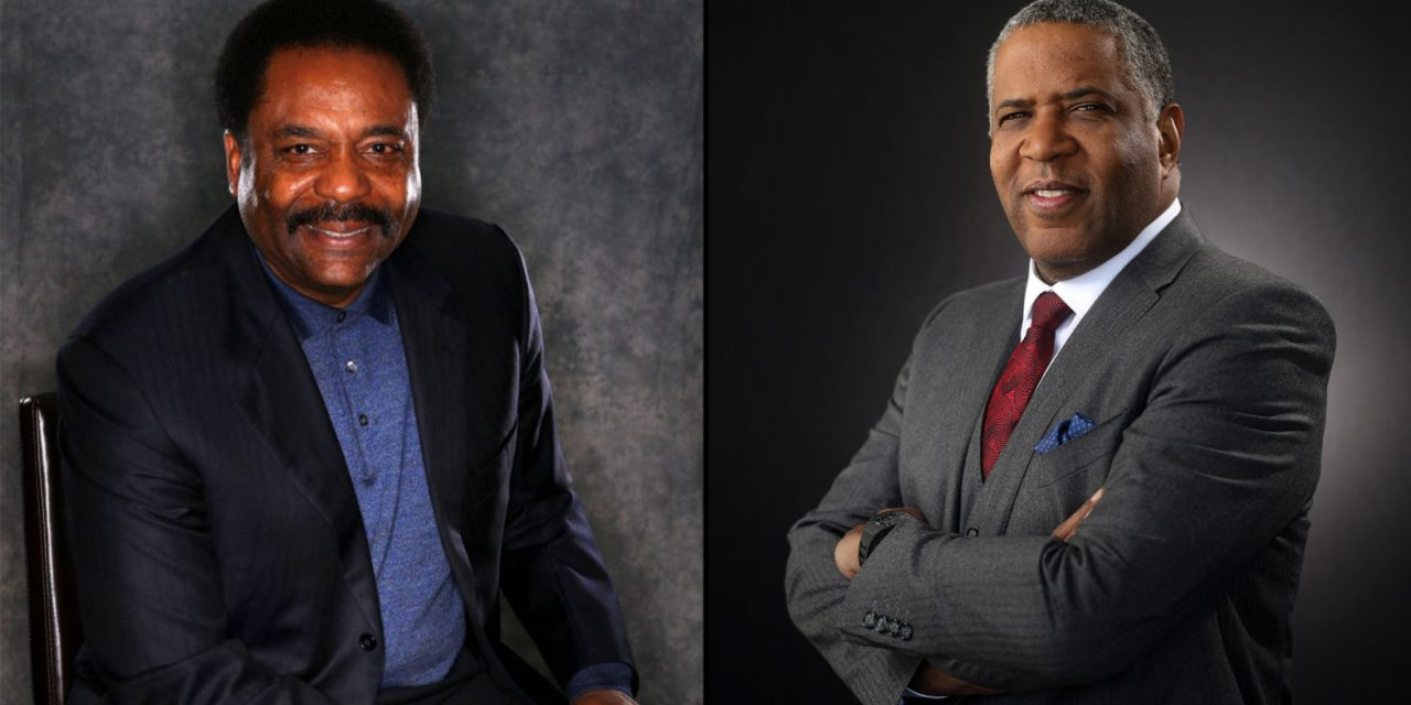 Robert F. Smith Founder, Chairman and CEO  Vista Equity Partners, and David Steward, who is the founder and chairman of IT provider World Wide Technology, are on the Forbes List Of The 400 Richest Americans