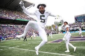 Oregon's Kayvon Thibodeaux is more than the next potential No. 1 NFL draft pick.  Kayvon Thibodeaux has career-high 9 tackles, 4.5 for loss for No. 10 Oregon Ducks in 34-31 win at UCLA